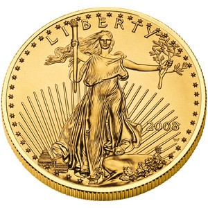 The US Mint has a Gold Price Chart that shows what you will be paying to buy their gold coins.