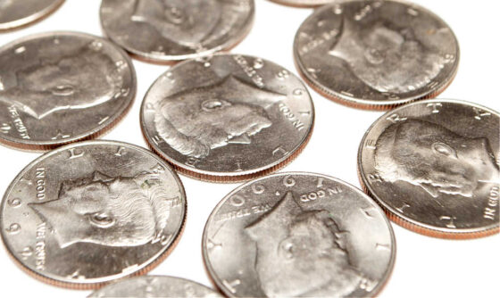 See which half dollar coins are worth a lot of money!