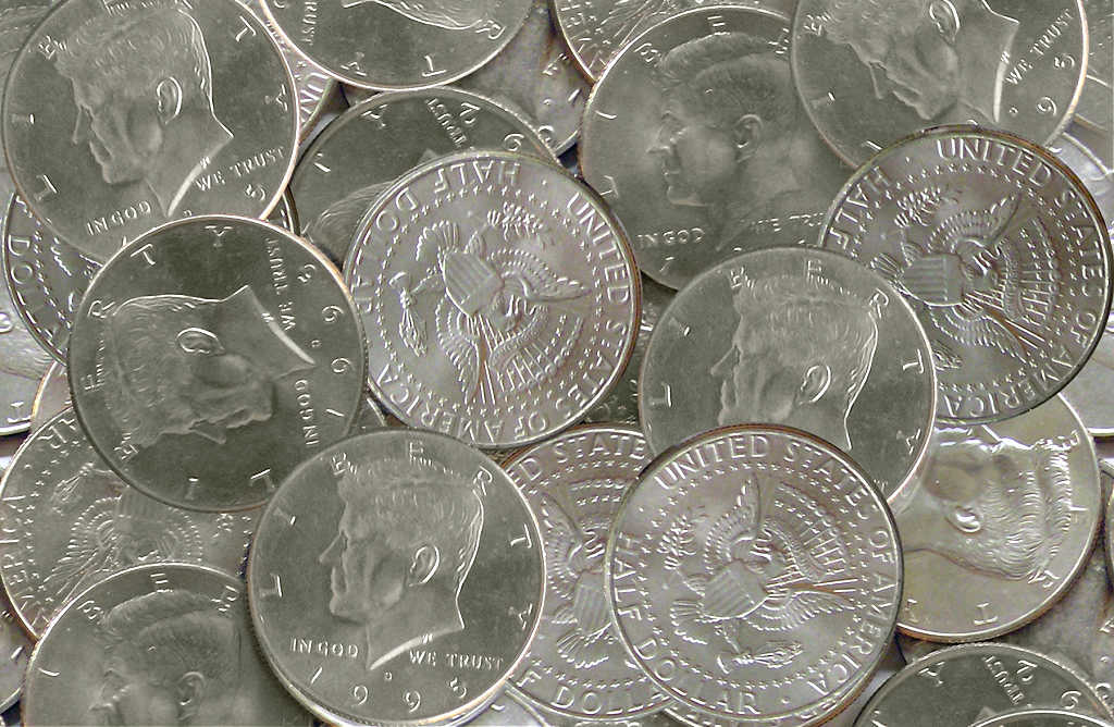 Here is the official list of U.S. half dollar coin errors.