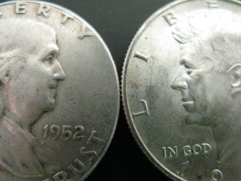 What are half dollars made of? Find out here!