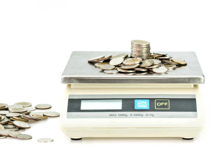 Why do you need a coin scale? Because food scales and postage scales don't read small enough weight units. You need one that reads 1/10th of a gram or even better... 1/100th of a gram!