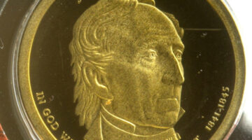 John Tyler Dollar Coin: Little-Known Facts About The 10th Presidential Dollar Coin In The Series & How Much It's Worth
