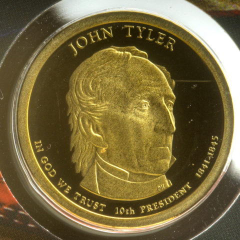 John Tyler Dollar Coin: Little-Known Facts About The 10th