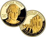Julia Tyler Coin – The 3rd Of The First Spouse $10 Gold Coins