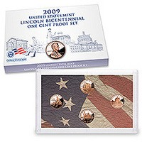2009 Lincoln Bicentennial One-Cent Proof Set