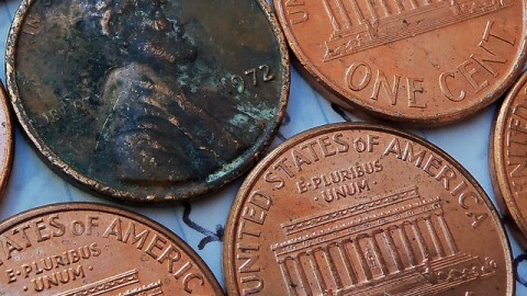 Old Coins Lincoln Memorial Pennies