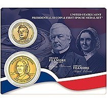 New U.S. Mint Product: Millard Fillmore $1 Coin Cover