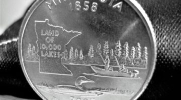 The Minnesota Quarter Error Is Worth Big Bucks And Can Be Found In Circulation… Look For The Extra Tree On Minnesota State Quarters!