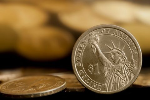 Modern U.S. dollar coin - see what it's made of here!