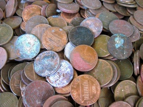 old-pennies
