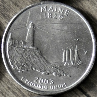 See why the 2003 Maine quarter is one of the top 10 rare state quarters.