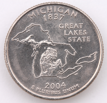 See why the 2004 Michigan quarter is one of the top 10 rare state quarters.