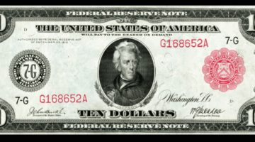 Red Seal Note 1914 Paper Money Values