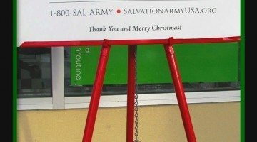 Amazing Holiday Donation: Valuable Gold Coin Found In Salvation Army Red Kettle