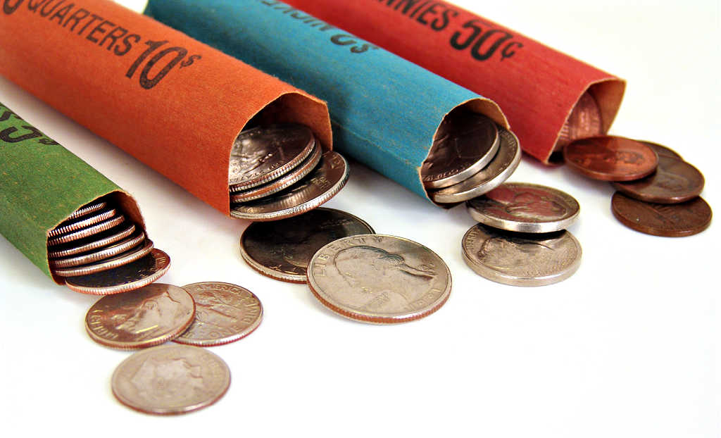 Searching bank rolls is one efficient and lucrative way of looking for error coins and varieties.