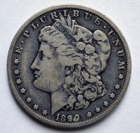 The Morgan dollar is one of the most well-known silver dollars