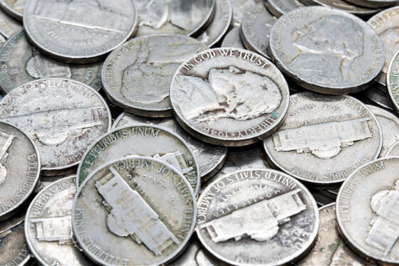 See when U.S. silver nickels were made and how much they're worth.