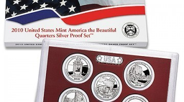Brand New 2010 Silver Proof Set Released August 26