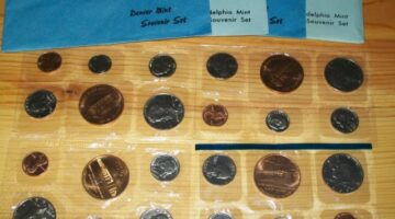 The United States Mint's Souvenir Set: The Only Way To Collect Official 1982 & '83 Uncirculated Coin Sets