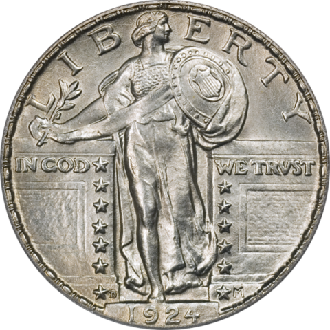 ... around? Here are the historic values for Standing Liberty Quarters