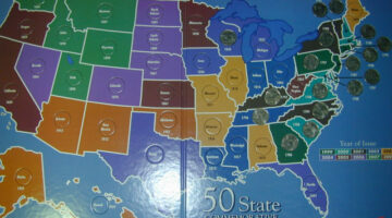 Tips For Assembling A Complete Set Of 50 State Quarters + A List Of All The Coins In This Popular Series And Their Dates