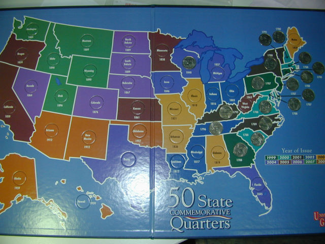 Tips For Assembling A Complete State Quarters Set - Complete 50 state quarter set