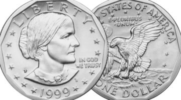 Reasons To Collect Susan B. Anthony Dollar Coins + The Value Of All 18 SBA Dollars Made In 1979, 1980, 1981, And 1999