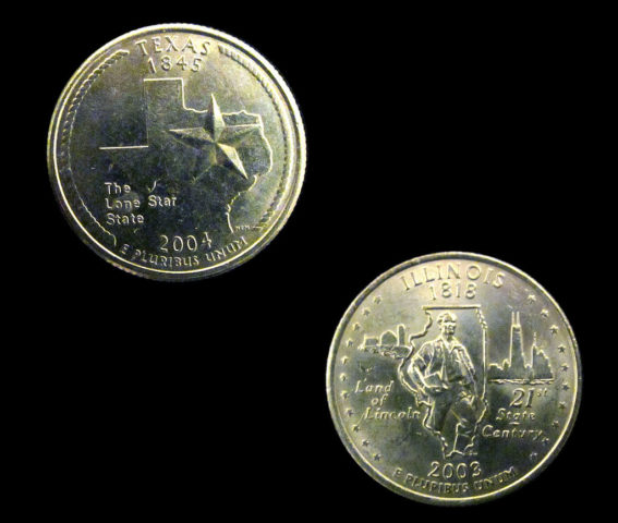Have You Noticed What S Really On The 50 State Quarters