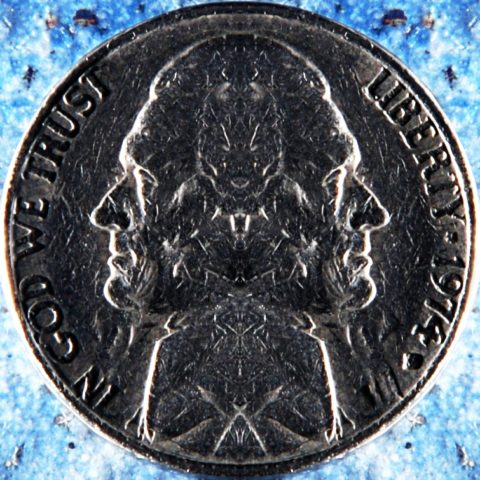 Example of a two headed coin