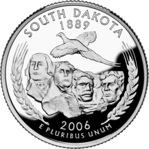 Two Headed Coins 2006 South Dakota Quarter