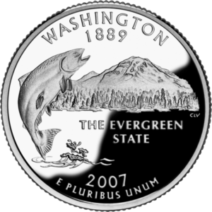 Two headed coins - the 1989 Washington quarter