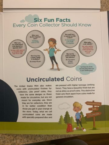 Uncirculated coins are included in the Explore & Discover coin collecting starter set from the U.S. Mint.