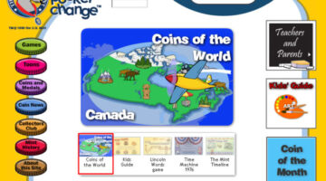 U.S. Mint's H.I.P. Pocket Change Site For Kids Who Collect Coins
