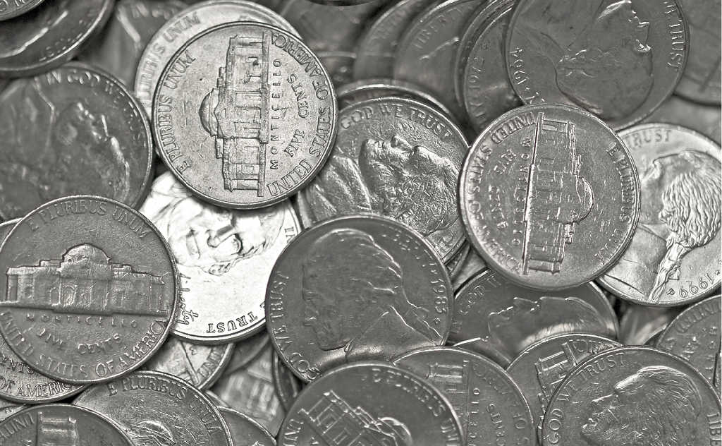 Here is the official error list of U.S. nickels.