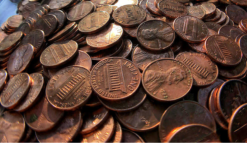 Here is the official error list of U.S. pennies.
