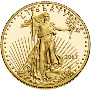 The West Point Mint has struck many kinds of coins, including American Gold Eagles - seen here.