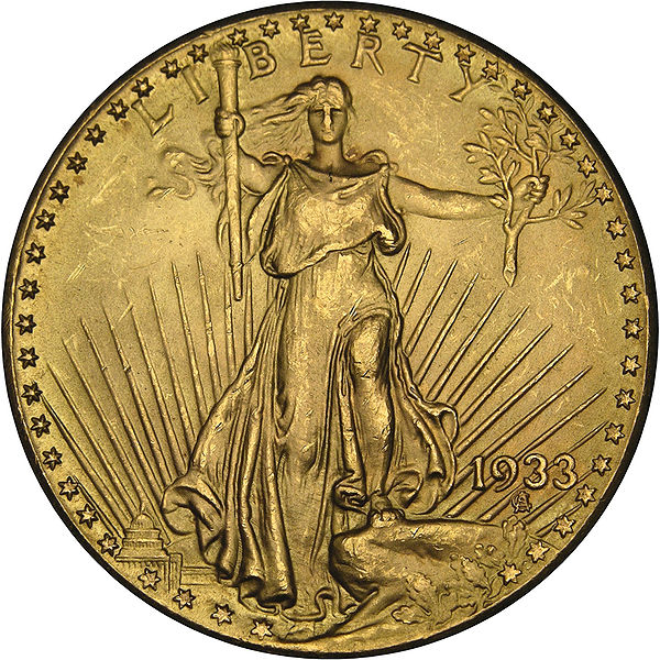 ... DOUBLE EAGLE — a $20 gold coin that, by several accounts, shouldn