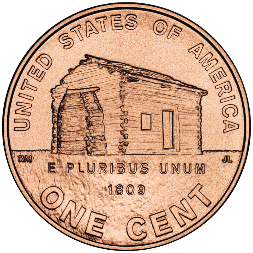 http://coins.thefuntimesguide.com/images/blogs/2009-lincoln-log-cabin-penny.jpg