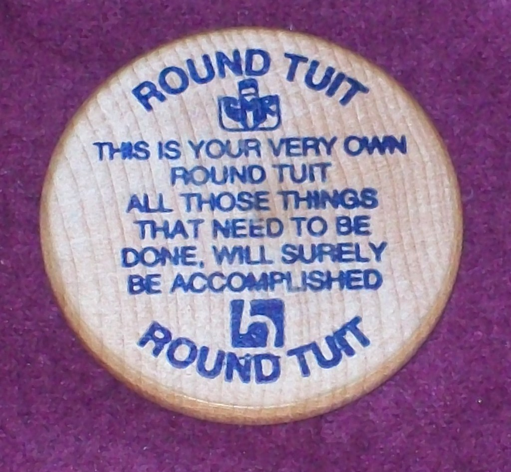 Image result for A Round Tuit